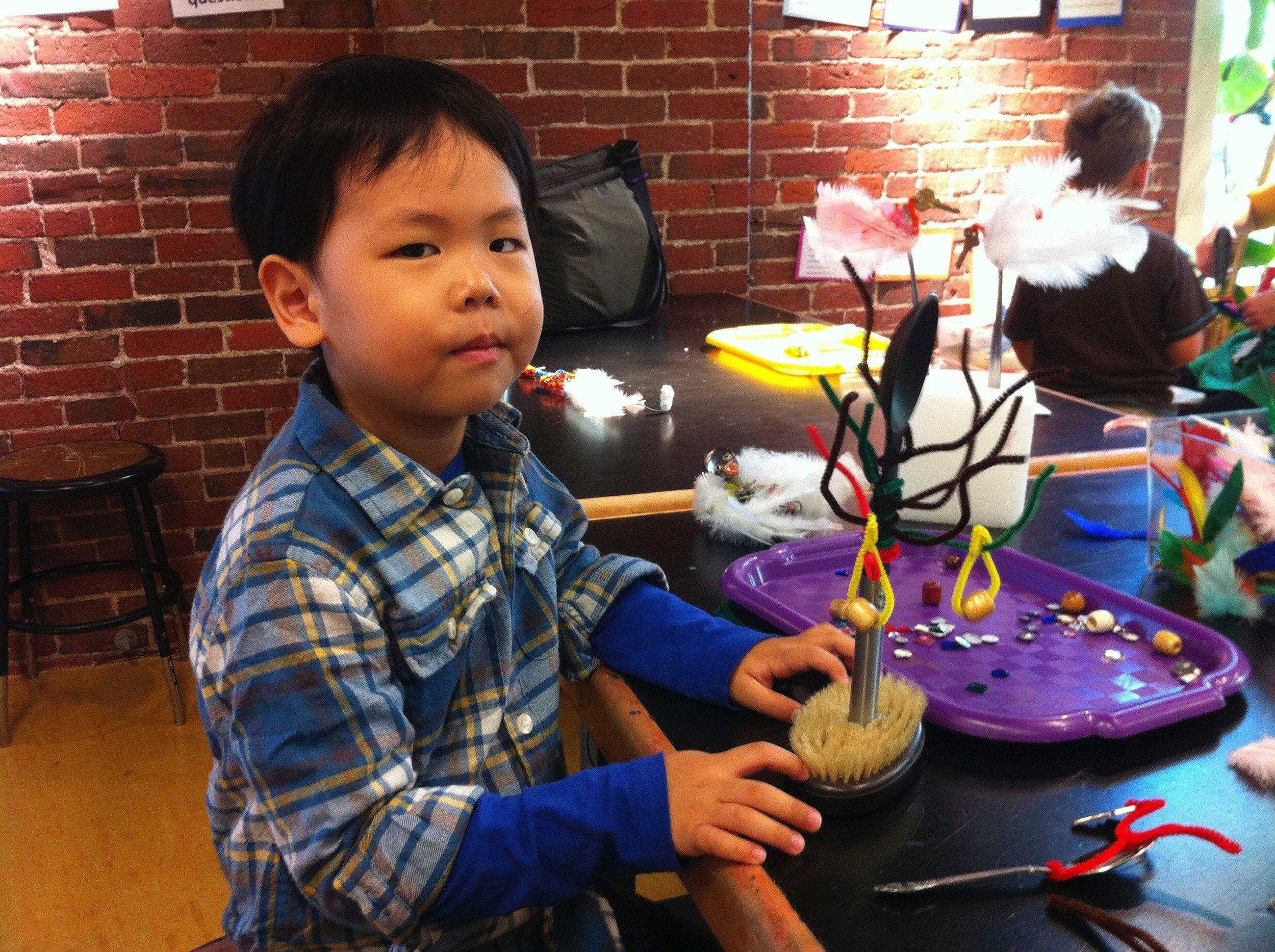 Visiting Artist at Children's Museum