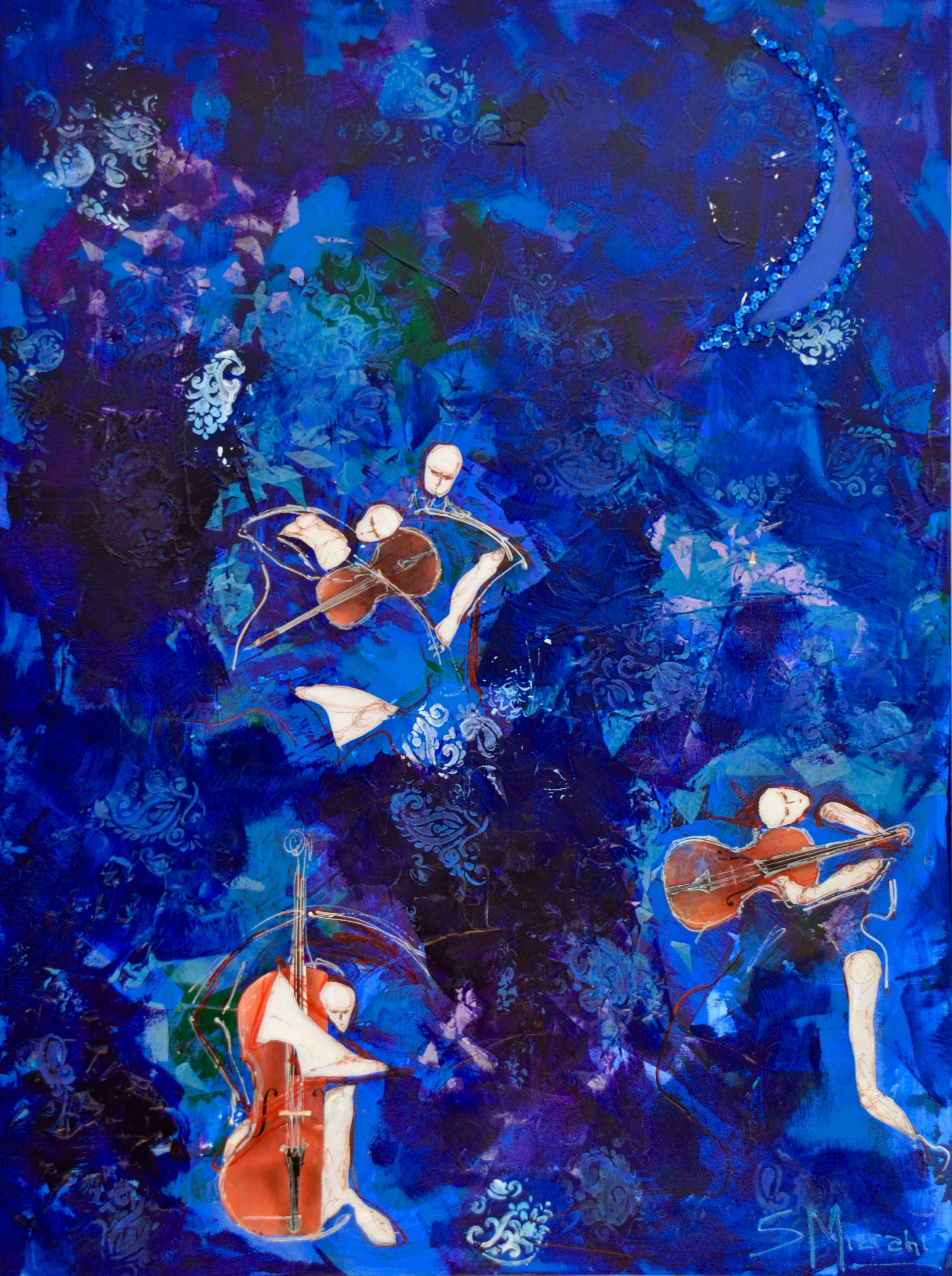 Music in Blue