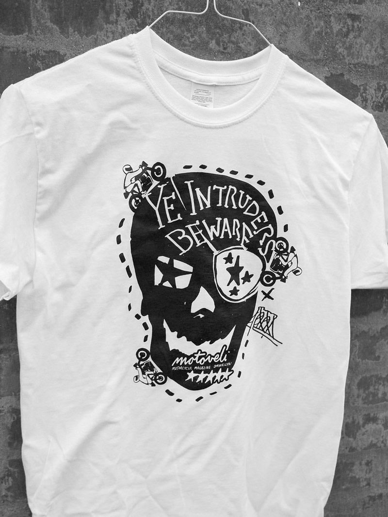 motorcycle shirt brooklyn skull