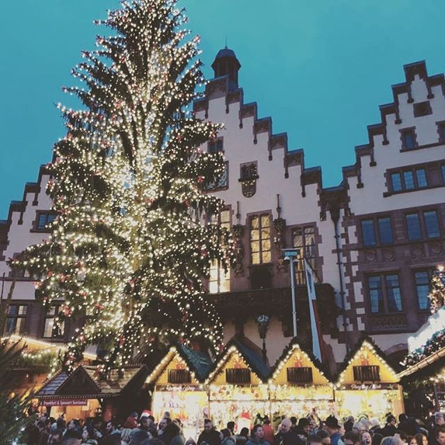 Had a lovely time checking out the #christmasmarkets in Frankfurt.