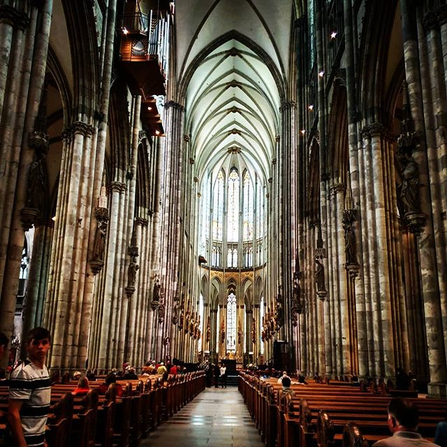 Visiting #cologne  #cathedral