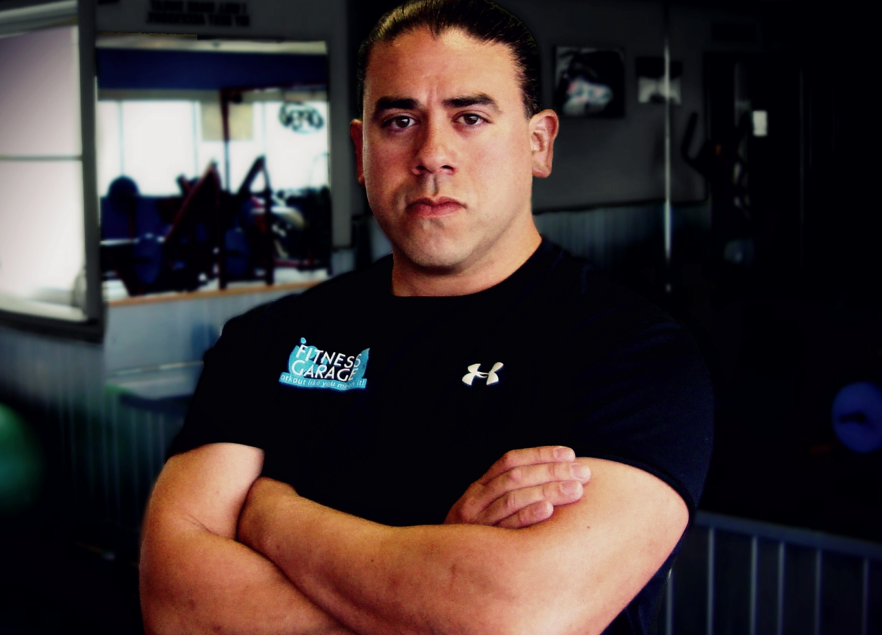 Esteban - Esteban is the owner and certified personal trainer and weight loss specialist at Fitness Garage. He graduated from Southern Adventist University in 2002 and started training out of his garage in 2007.