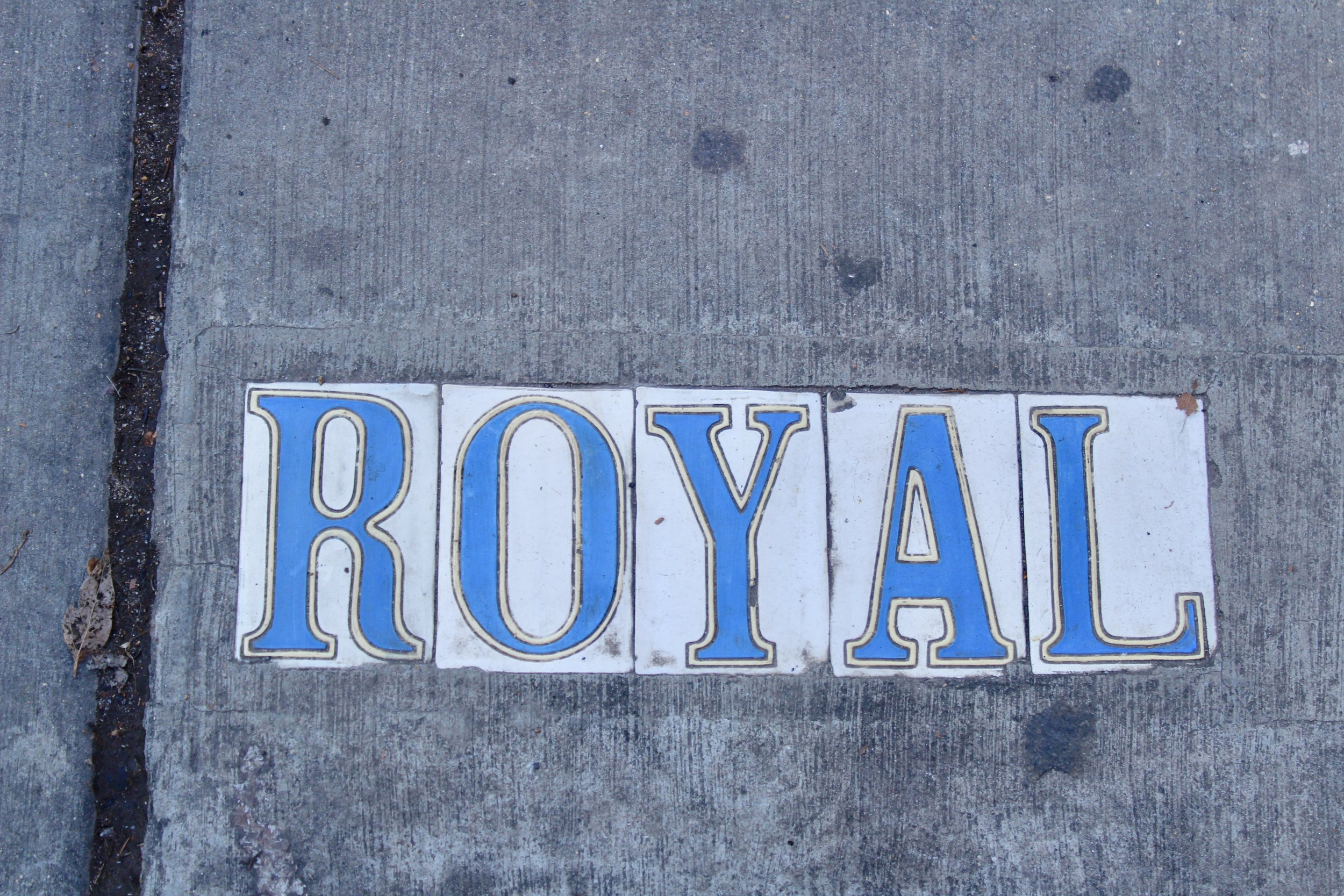 Royal Street French Quarter New Orleans
