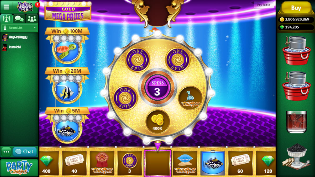 Gem Prize Wheel