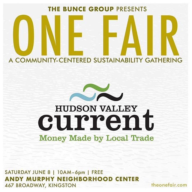 Exhibitor Spotlight on The Hudson Valley Current @hvcurrent. . The Hudson Valley Current is a nonprofit, economic development organization dedicated to challenging the scarcity myth. They seek abundance for all—our community, our businesses, and our families—and they've developed a community currency called the Current—a means to share each business or individual's skills and resources within the community. Anybody in the Hudson Valley with a product or service to offer can sign up for free. Come find out more!