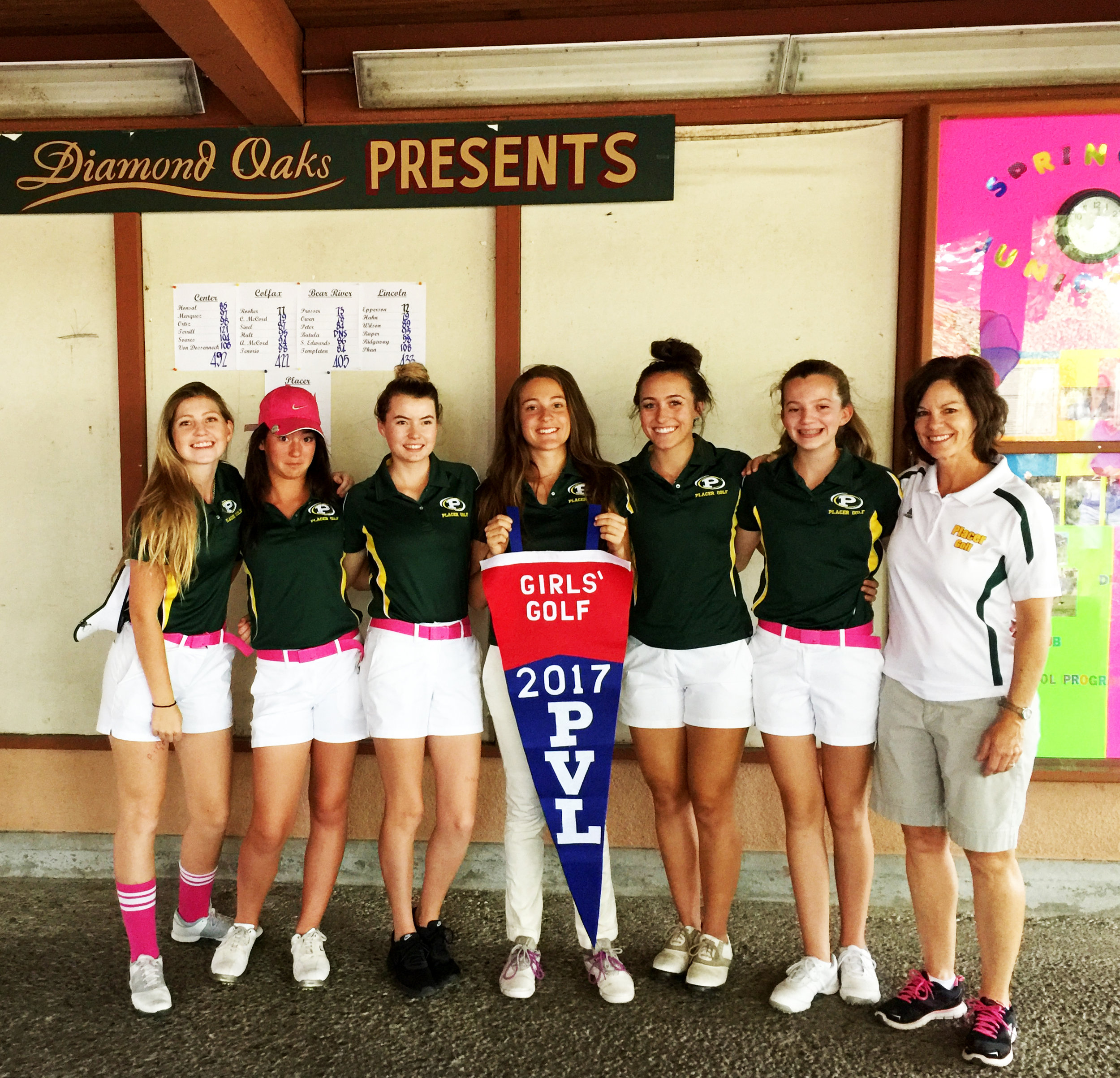 Placer HS Girls Golf Team.JPG
