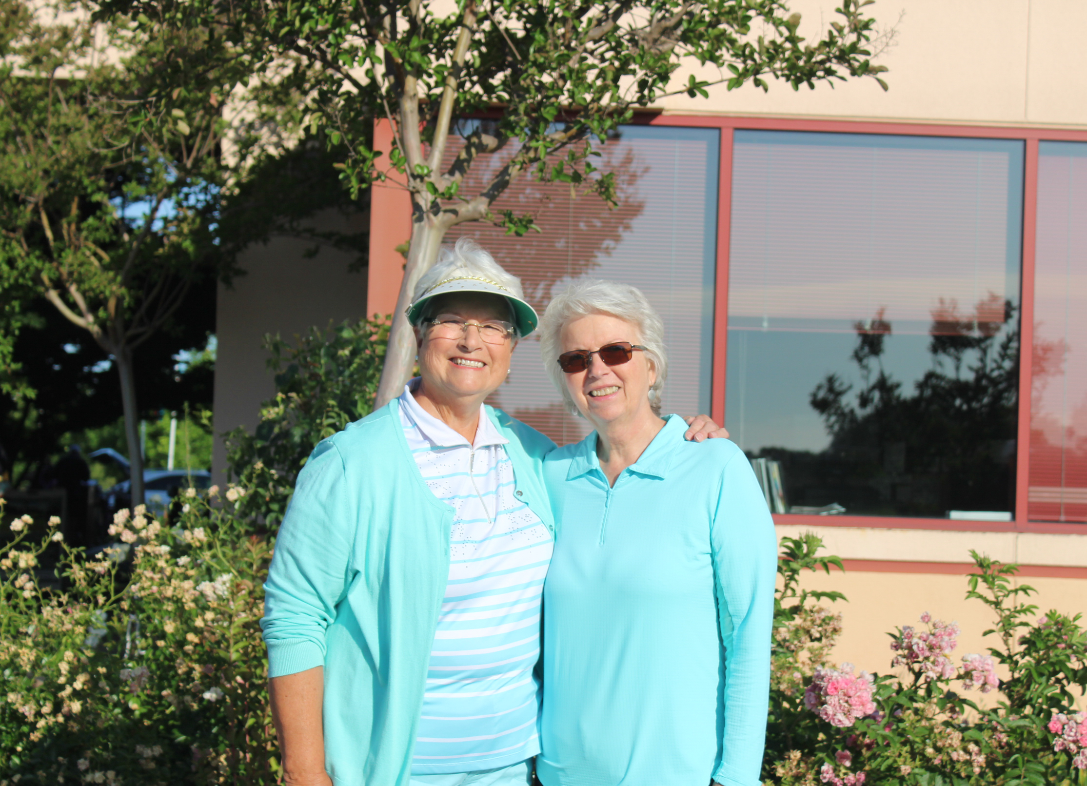 From left to right: Nancy Boggs, Past President, and Sheila McMuprhy, North Central Area Director.