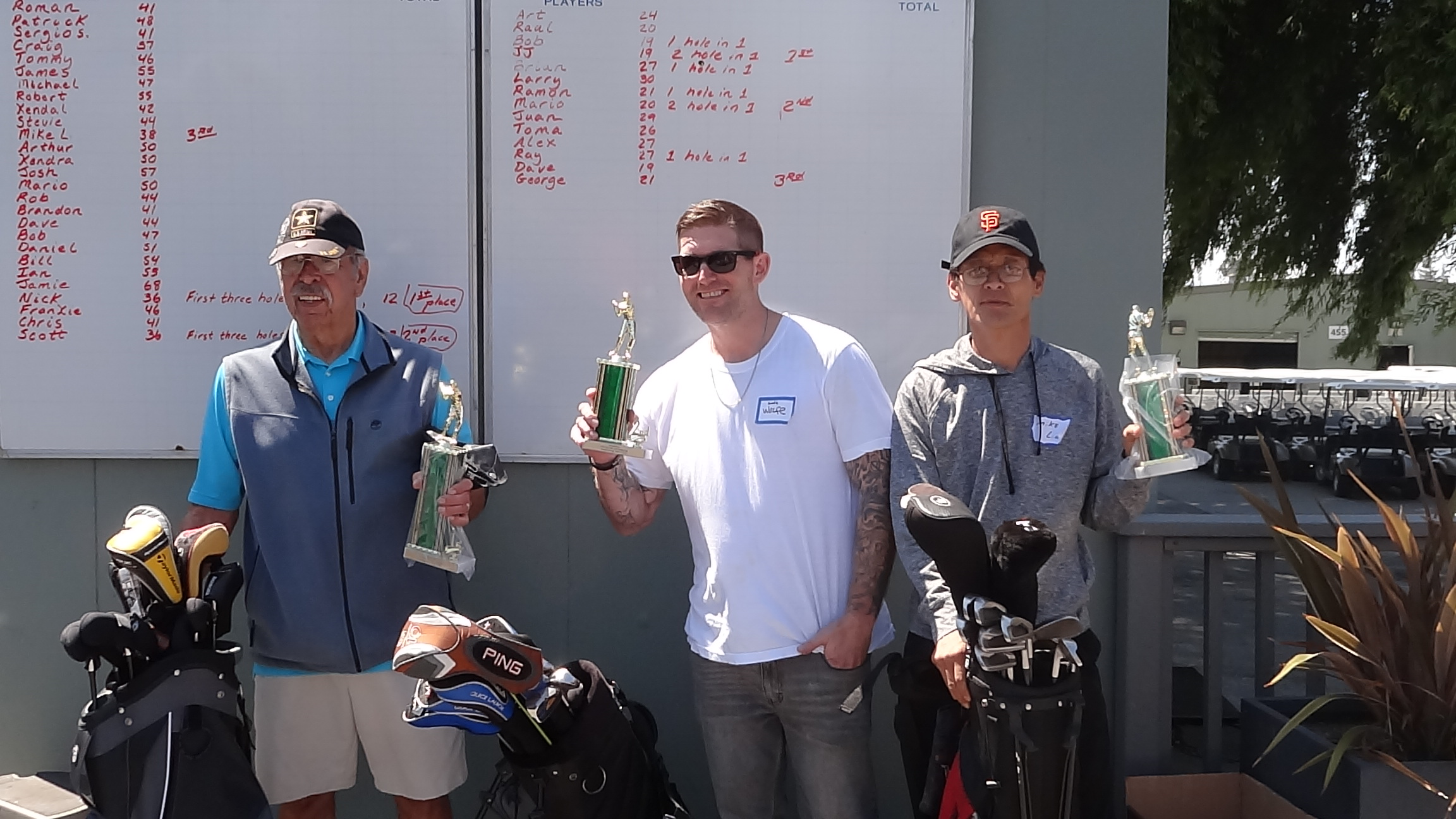 Golfing Contest Winners.JPG