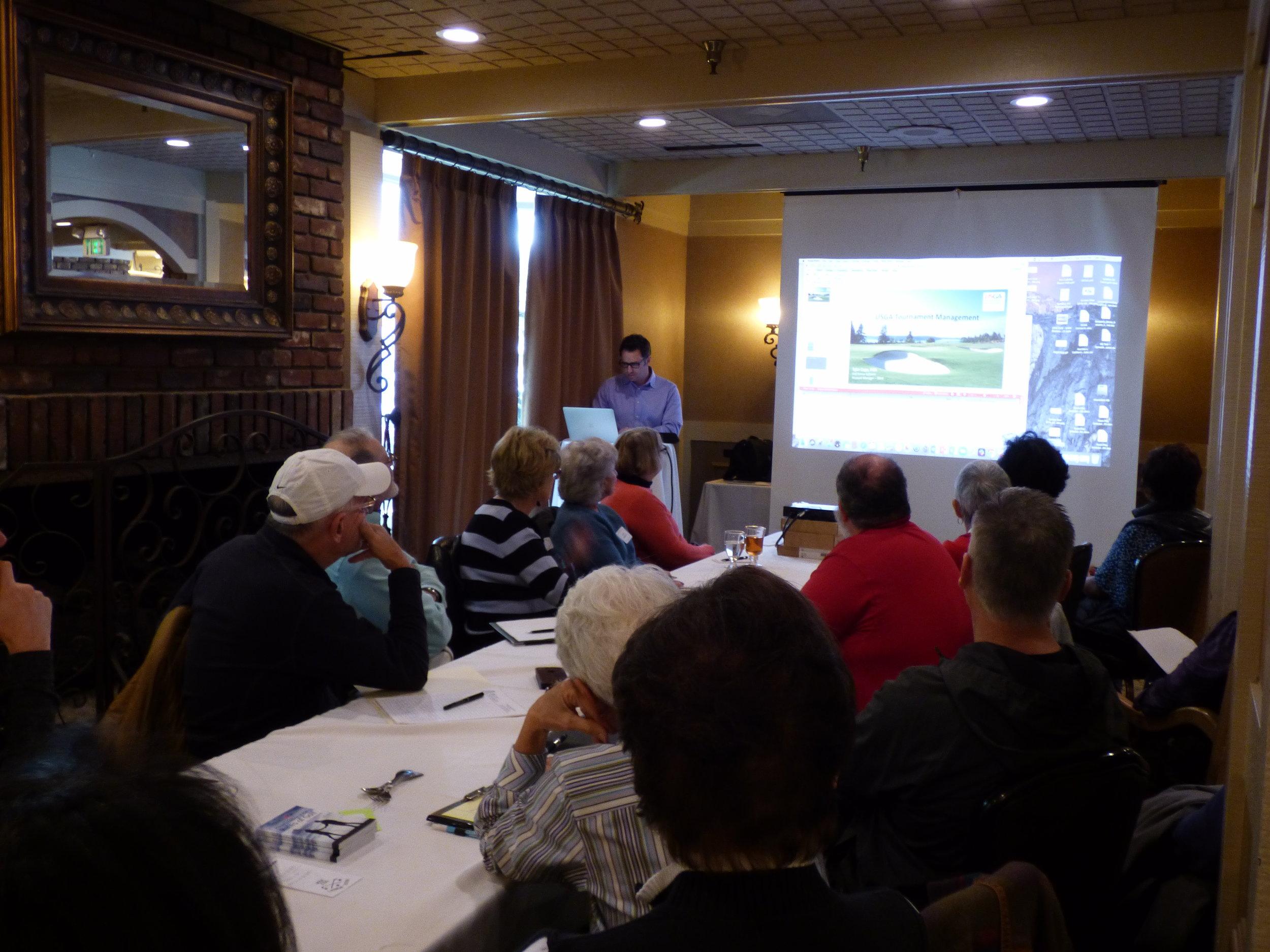 Golf Genius Training