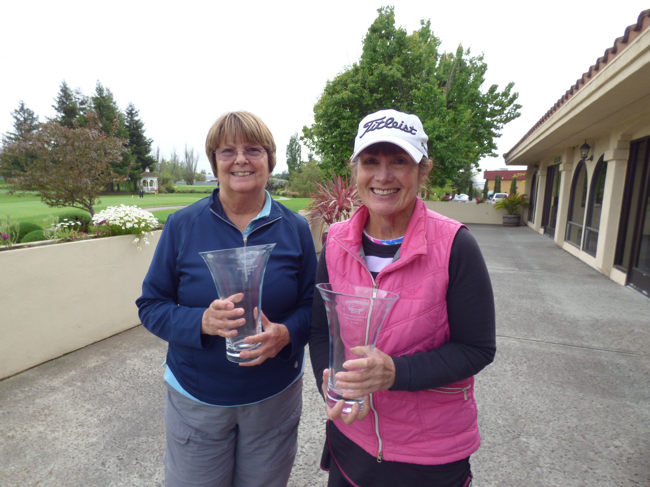 Super Seniors Over the Field Winners - Charlotte Temple and Nancy Rosa