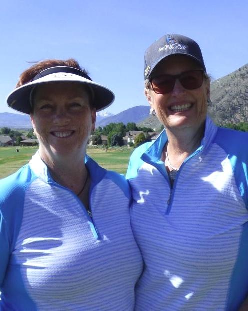 Cheryl Wecker and Rebecca Reese