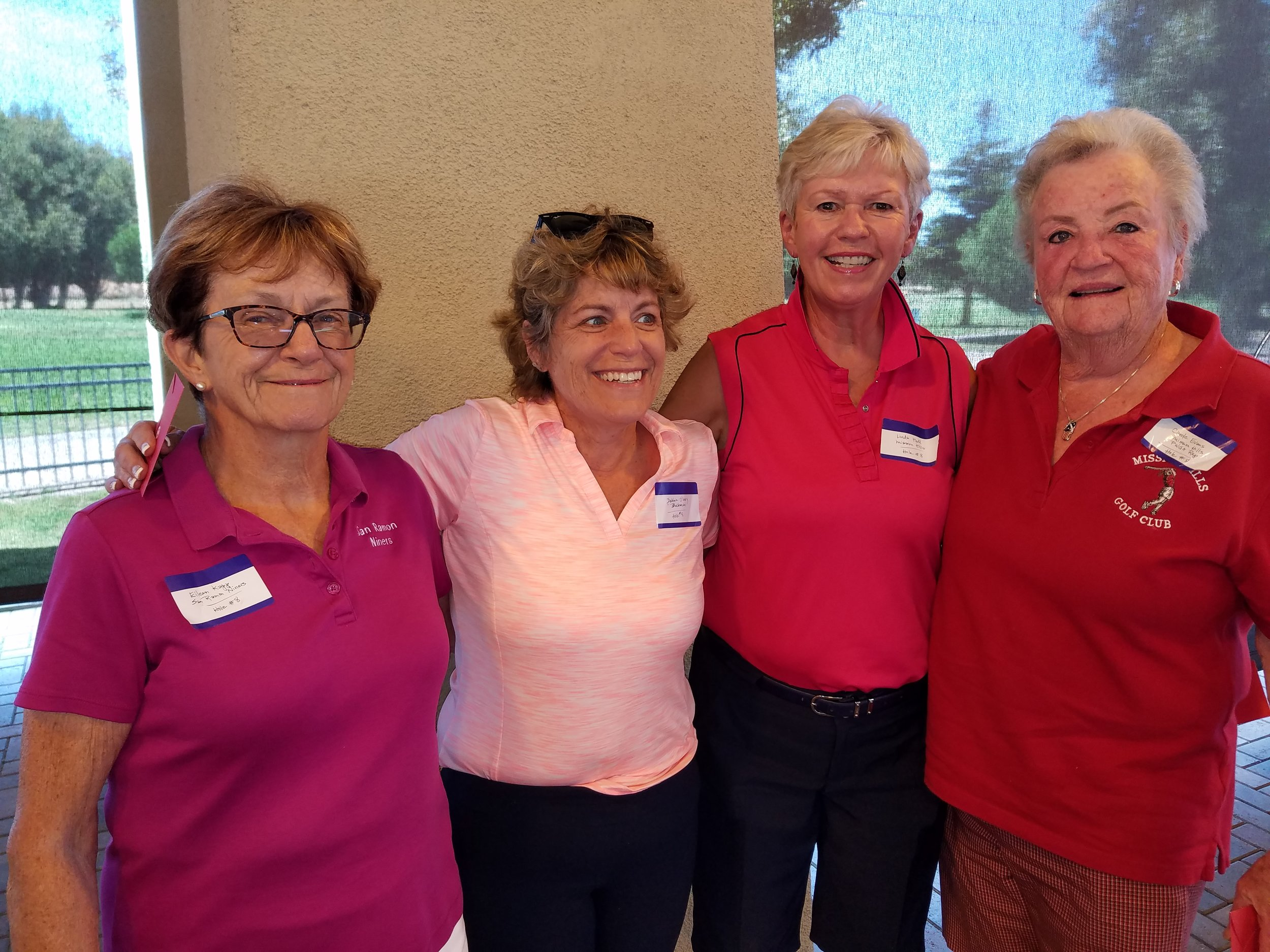 4th Place - Carole Evans, Linda Hall, Eileen Kapp and Debbie O'Leary