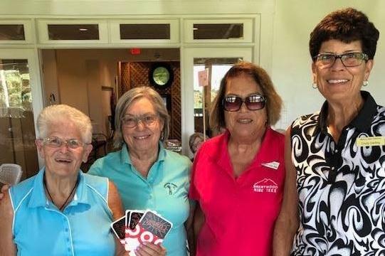 2nd Place Team - Cynthia Darling, Barbara Walker, Judy Presley & Jenny Reinke
