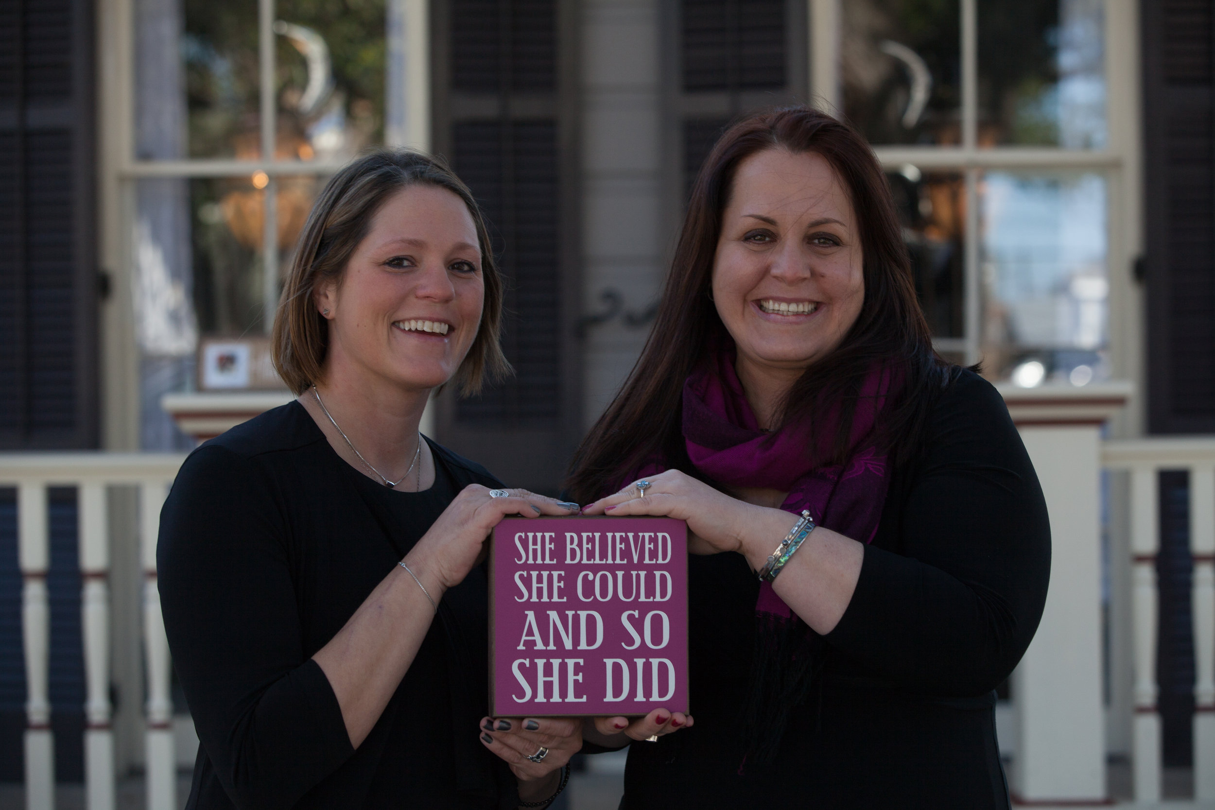 Theratique's Founders, Hope and Jessica