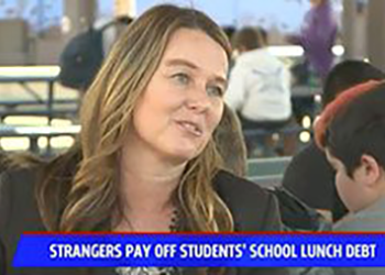 WaveCrest Cafe - In the northern part of San Diego County,WaveCrest Cafe, the nutrition services department of Vista Unified School District, has also been attracting attention for everything from their celebration of National School Breakfast Weekto a recent pair of community members who donated money that helped to pay off negative lunch balances for over 70 students in the district. Media outlets such as Fox 5 San Diego, The Vista Press and Patch all covered the story of inspiring generosity.