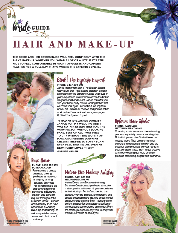 profile magazine - bride guide 2018