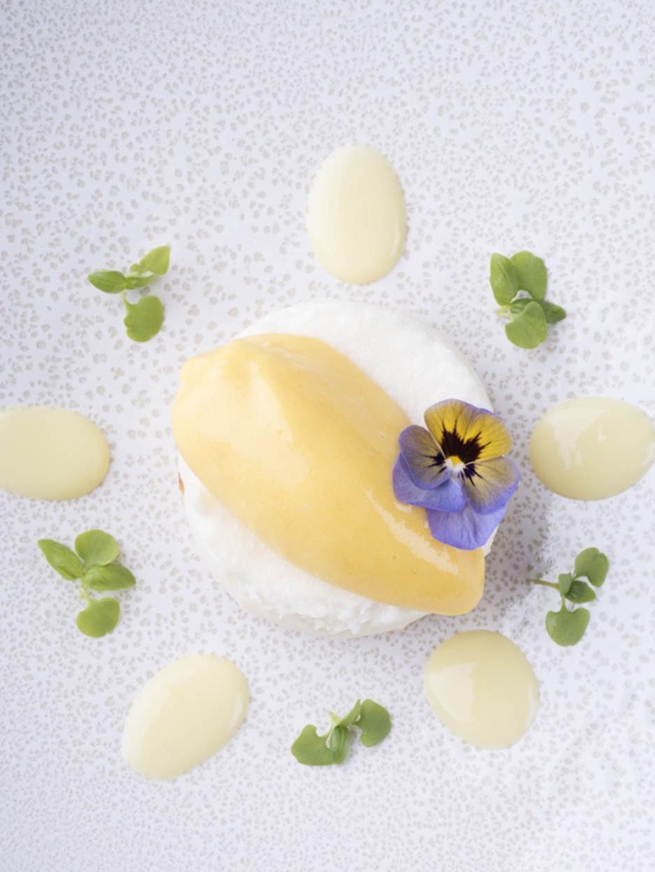 Marshmallow de coco com gelado de ananás dos Açores - Ano 2017