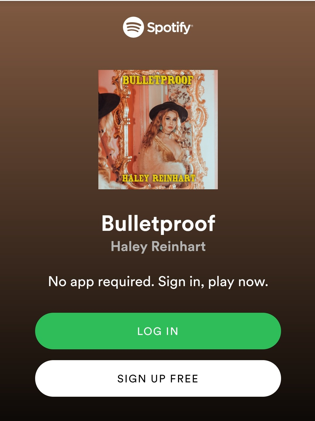 Haley Reinhart EP COVER: Bulletproof - Available on all streaming stationshttps://awal.lnk.to/HRBulletproof