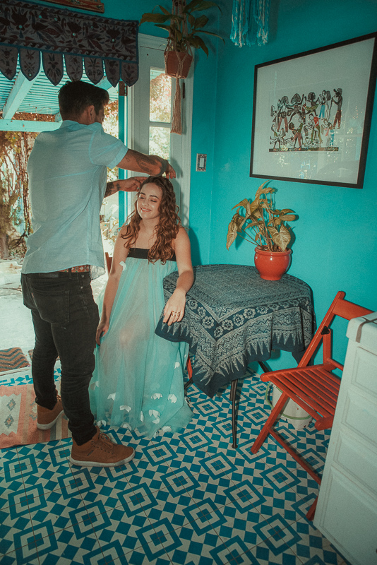 TALENT:  Mary Mouser  Hairstylist:  Michael Duenas