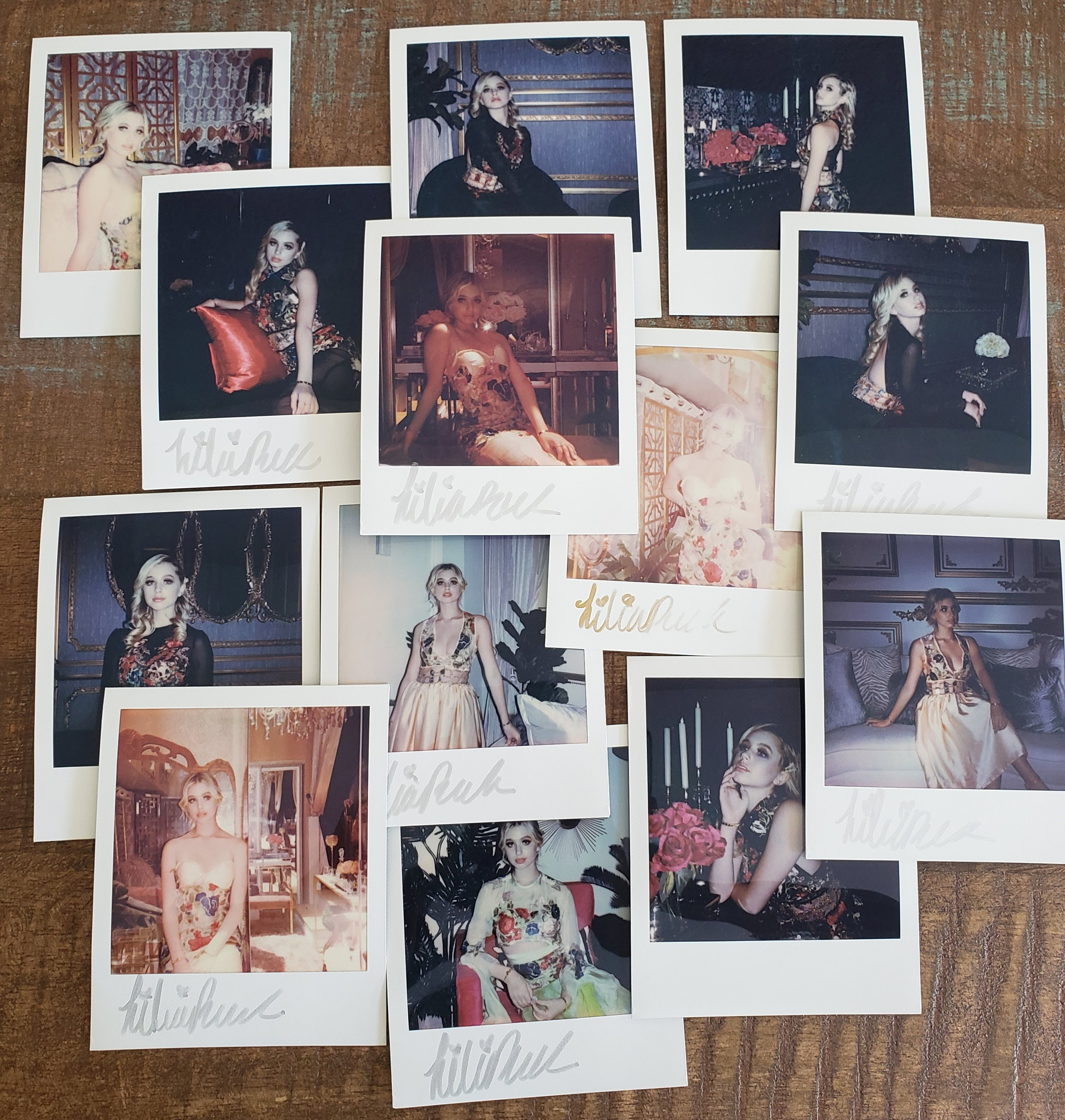 #polaroidoriginals with Lilia Buckingham