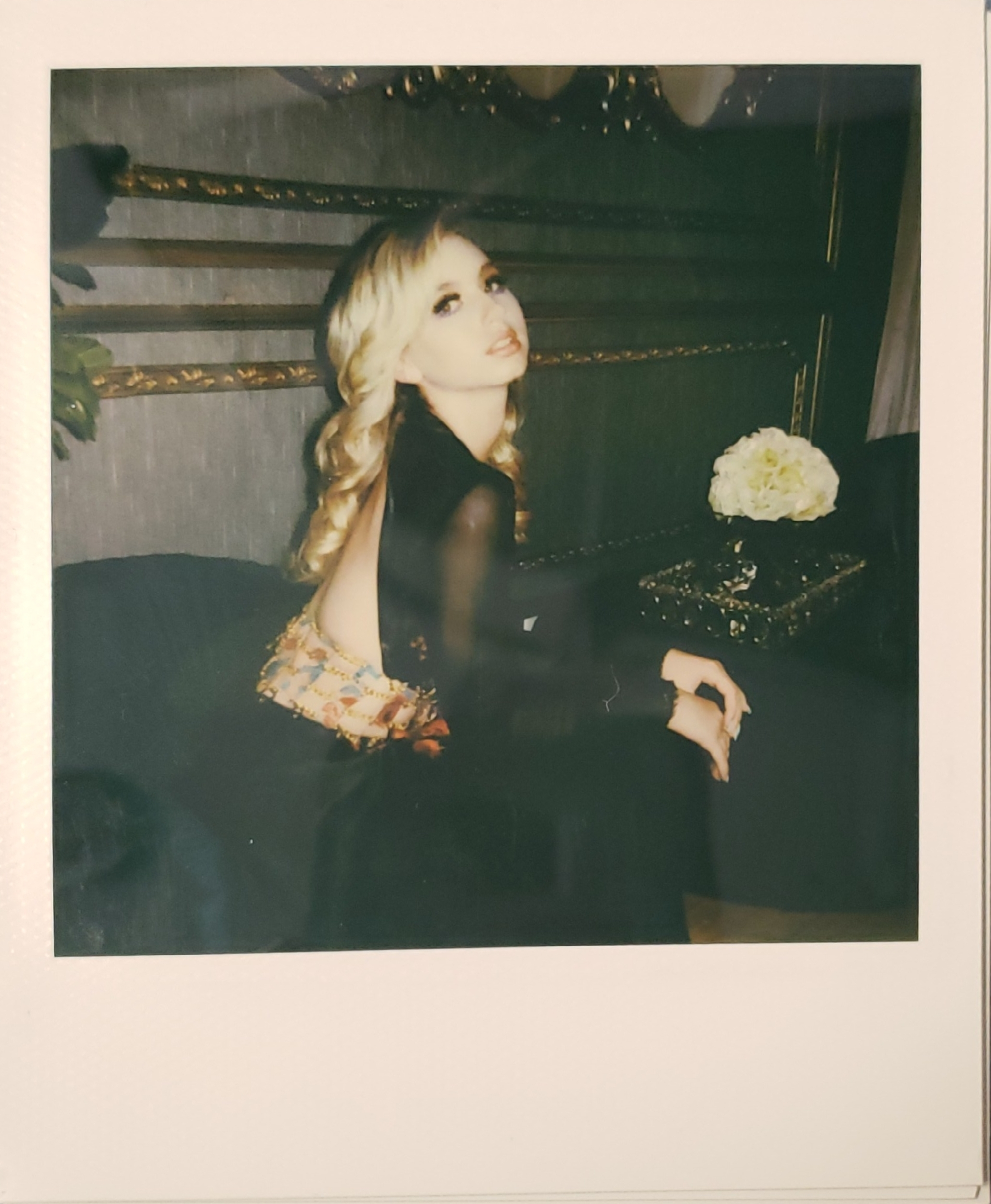 #polaroidoriginal of Lilia Buckinham Photographer: Heather Koepp