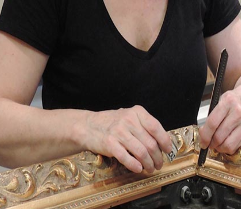 Custom Framing - Upon entering Islands Framing, you are greeted with hundreds of moldings and matting choices. Please don't feel overwhelmed by the infinite possibilities, as we are here to guide you through the process.