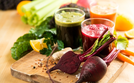 SMOOTHIES + JUICES - .