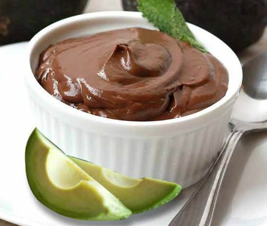 Chocolate Lovers Avocado Mousse