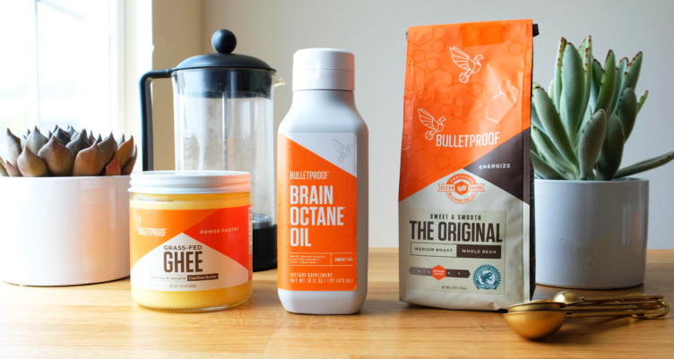 """Using the Bulletproof """"brand"""" is NOT at all necessary! I do however, use the """"brain octane oil"""" from Bulletproof, but some people prefer to use organic coconut oil. I also like to use high quality Irish unsalted butter, or any good quality ghee. Choose coffee that is low in acid, blend and GO!"""