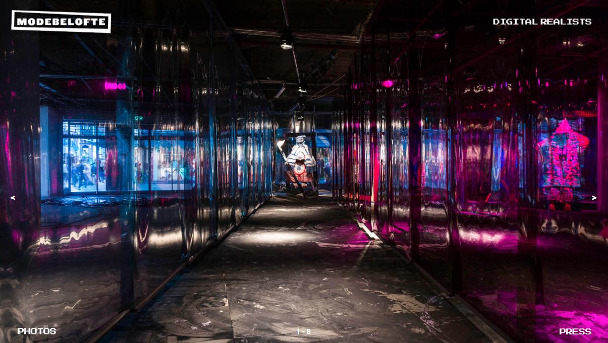 Modebelofte exhibition at Dutch Design Week
