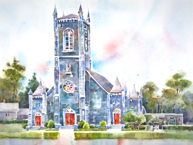 Trinity Church by Peter Huntoon