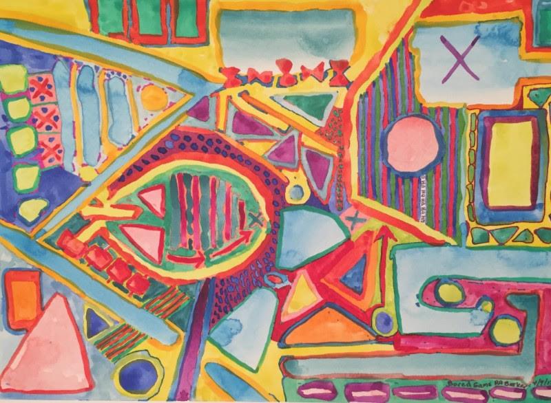 """Bored Game,"" by Ruth Ann Barker"