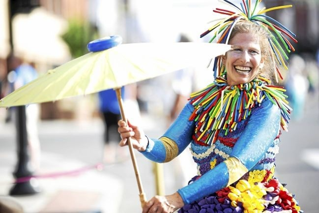 Performing artist Linda Peck will provide entertainment throughout the day with juggling, balloon animals and more. Photo credit:  The Berkshire Eagle