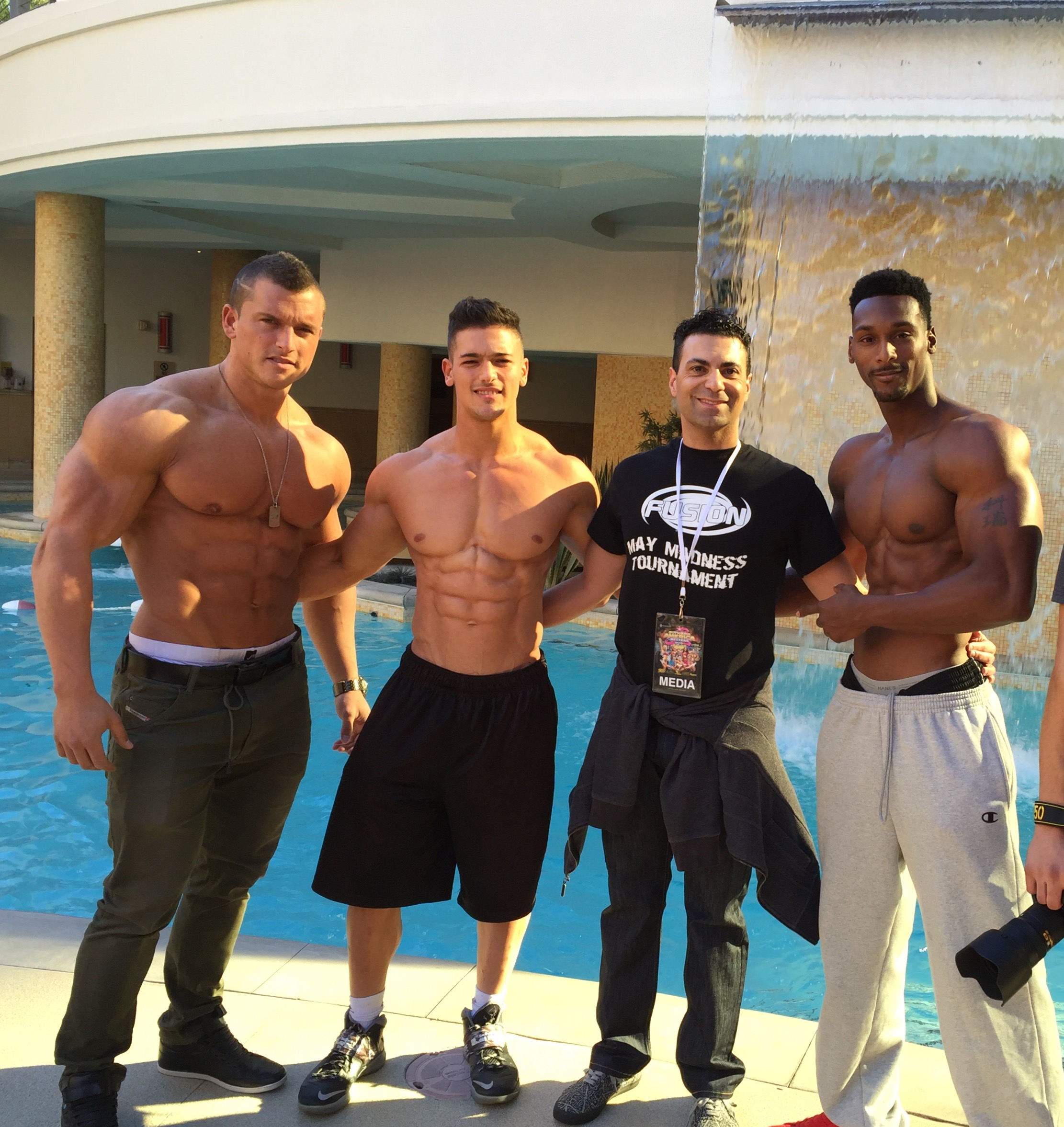 MuscleMania & Fitness America: Media