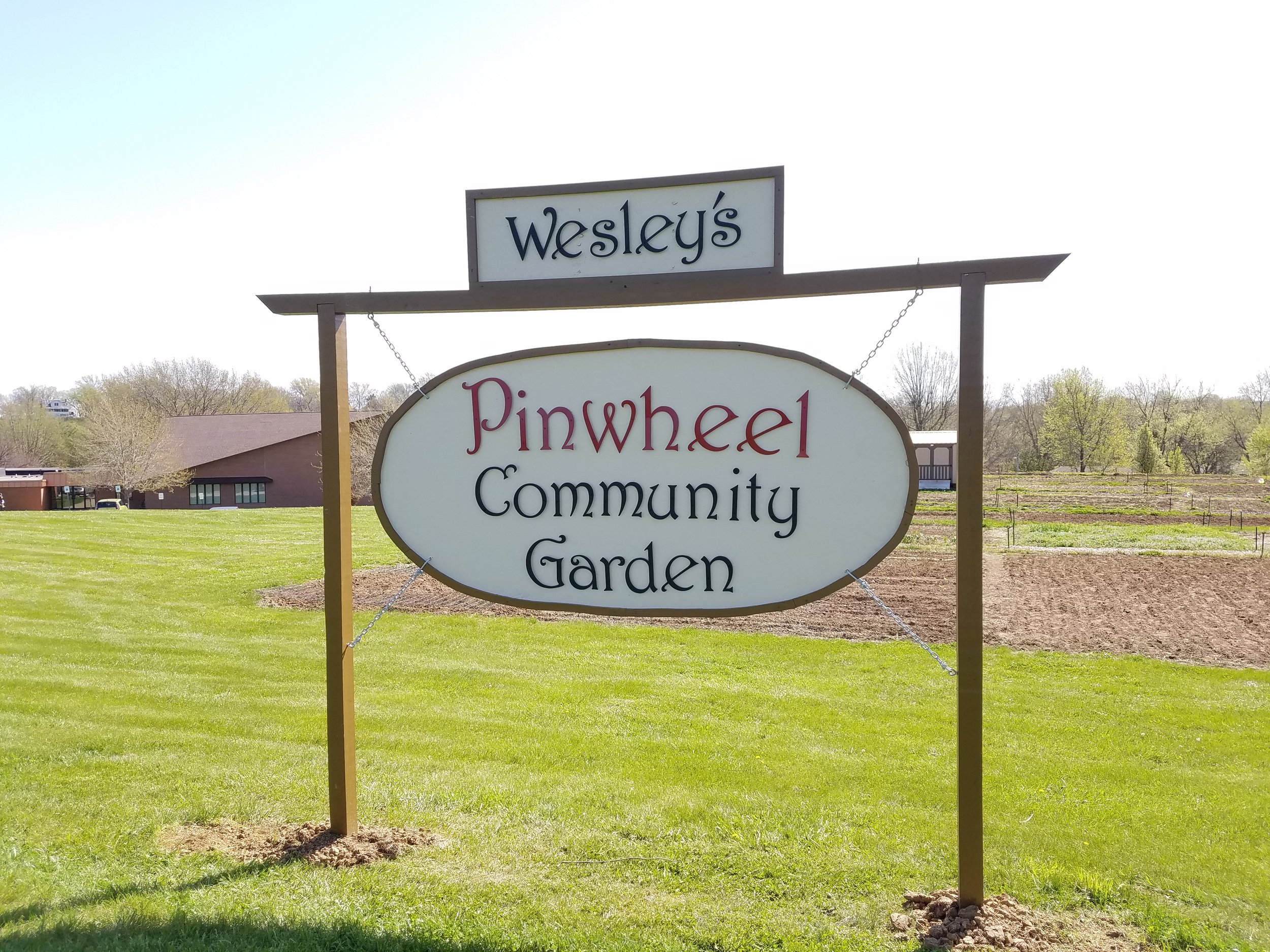 Wesley UMC Pinwheel Community Garden, 2727 Wesley St., Jefferson City, MO 65109