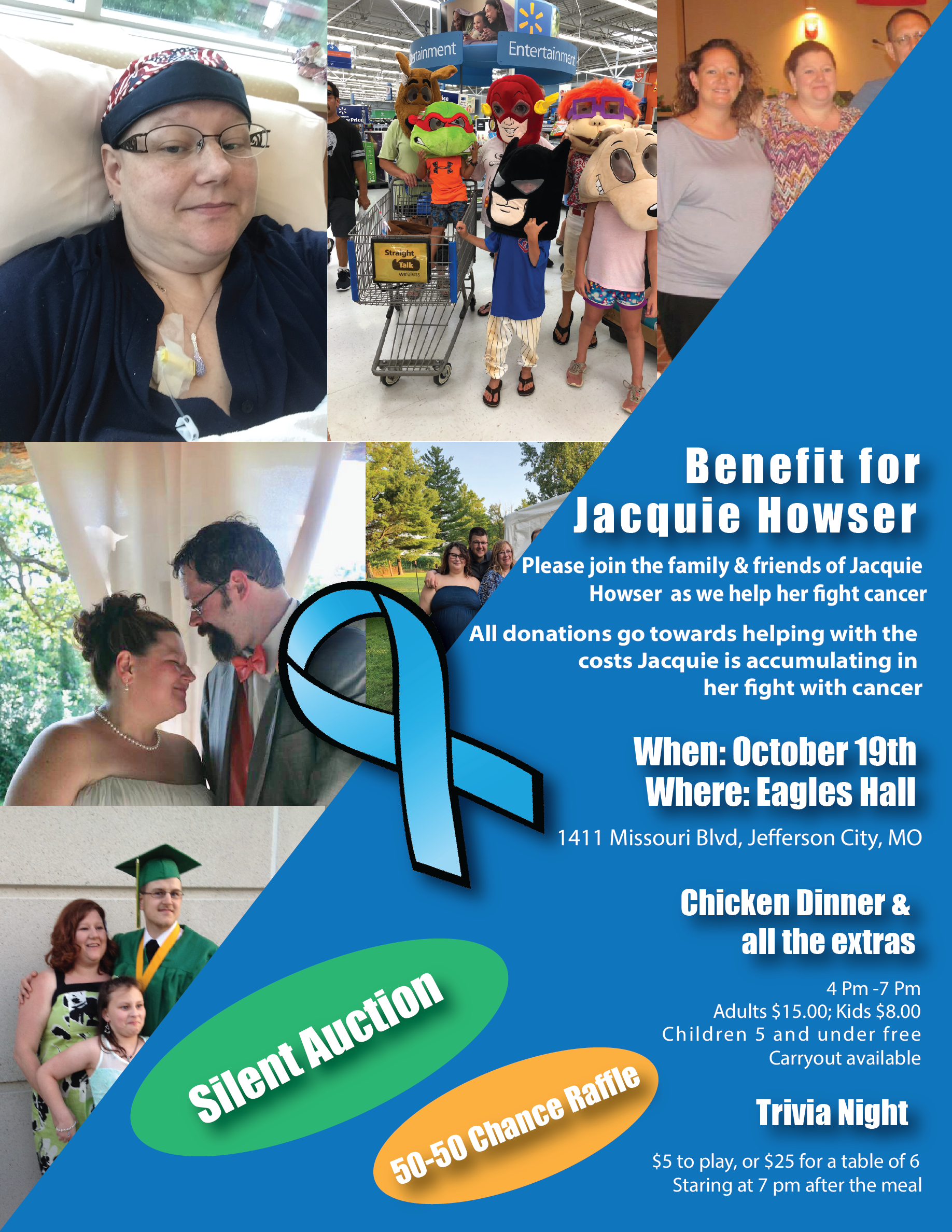Jacquie Howser Benefit Poster