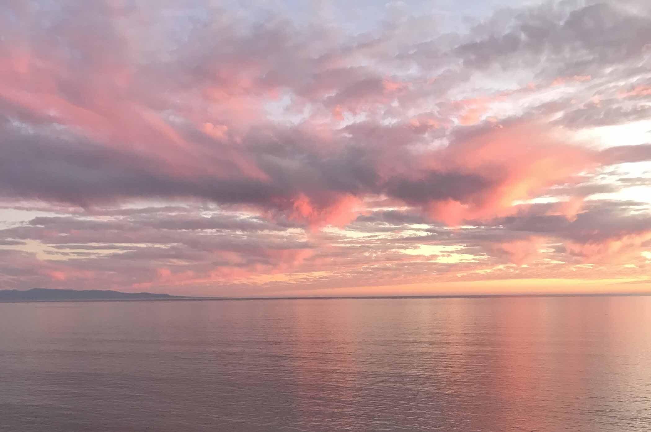 Sober Seacliff Sunset High