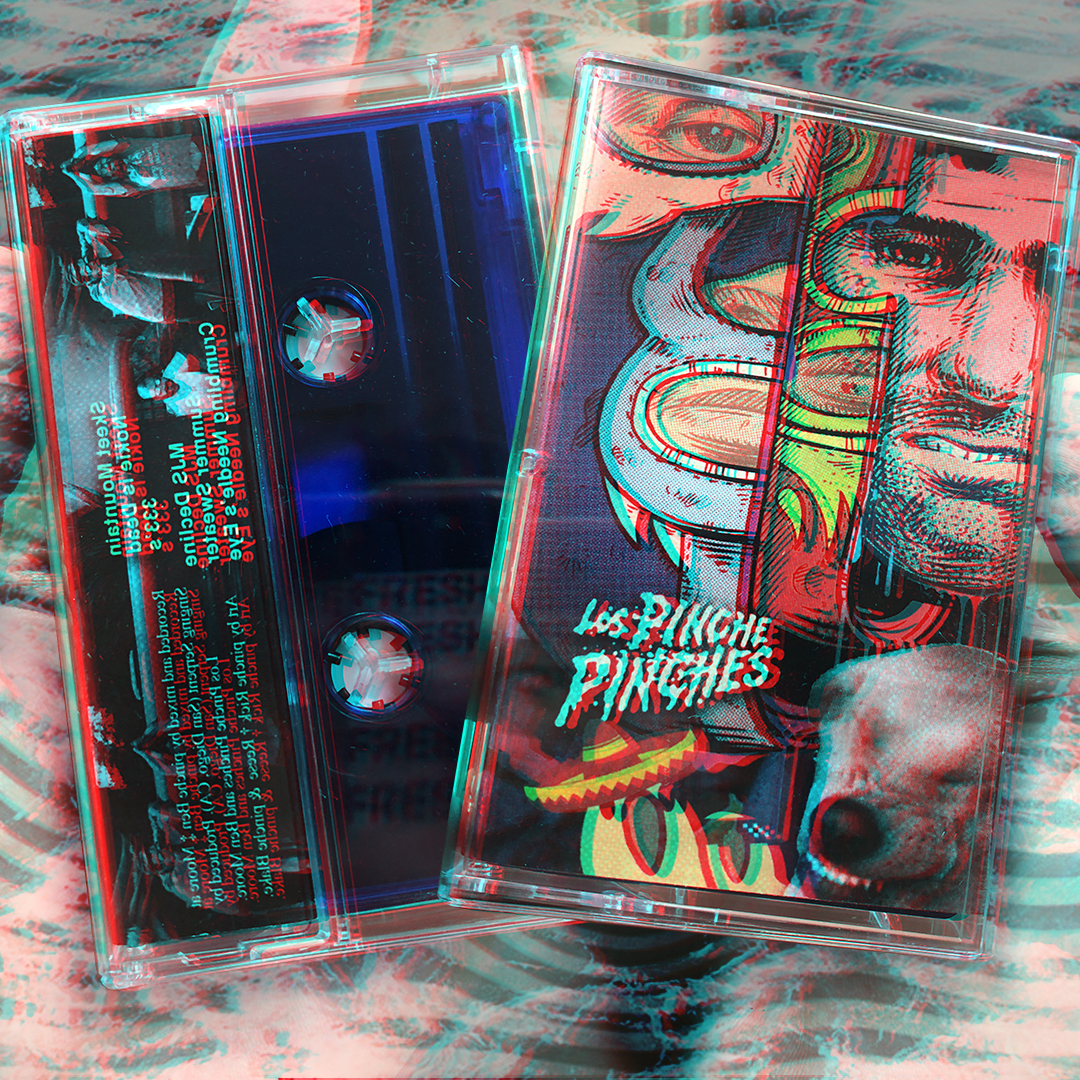 Limited Edition of 50 Tapes. Available in transparent red and blue. Order Here >