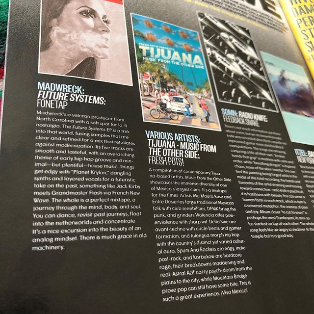 Our Tijuana comp, Music From the Other Side, is featured in the newest issue of @newnoisemagazine. Less than 3 tapes left so grab yours now or FOMO. Link in bio