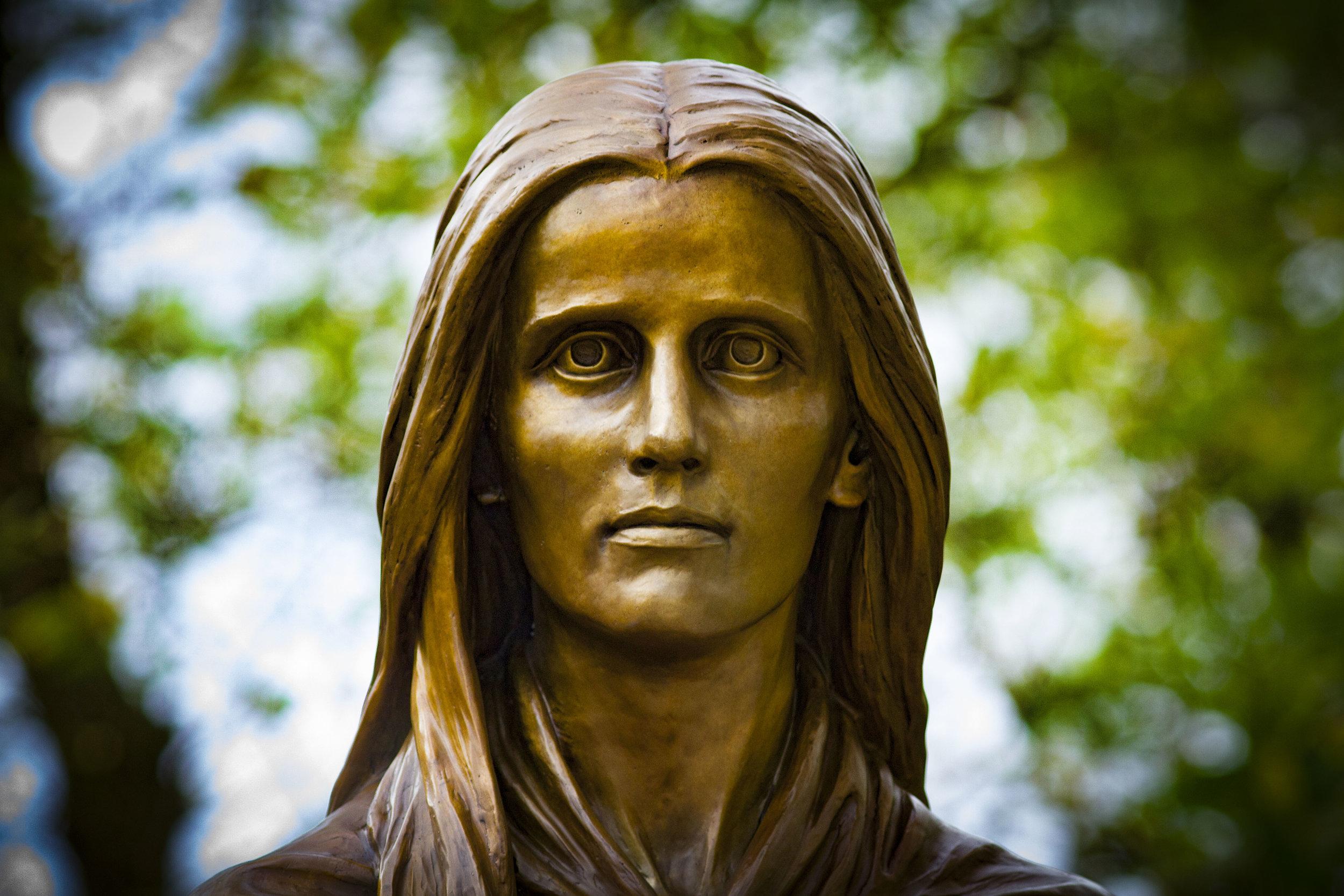 Mary Draper Ingles Statue