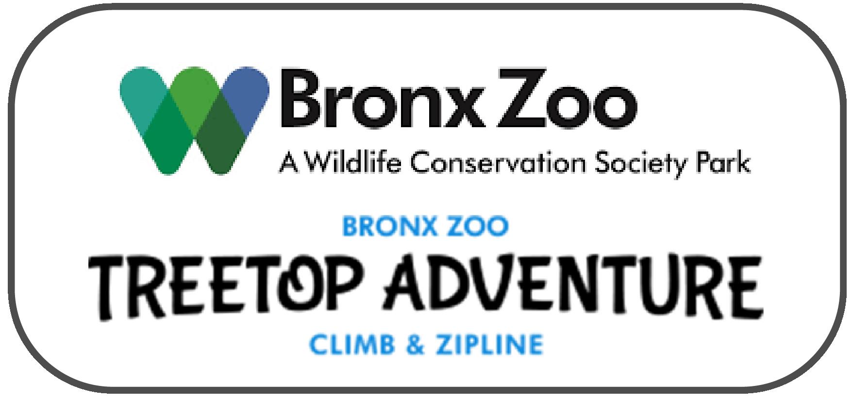 Bronx Zoo, Treetop Adventure and Nature Trek