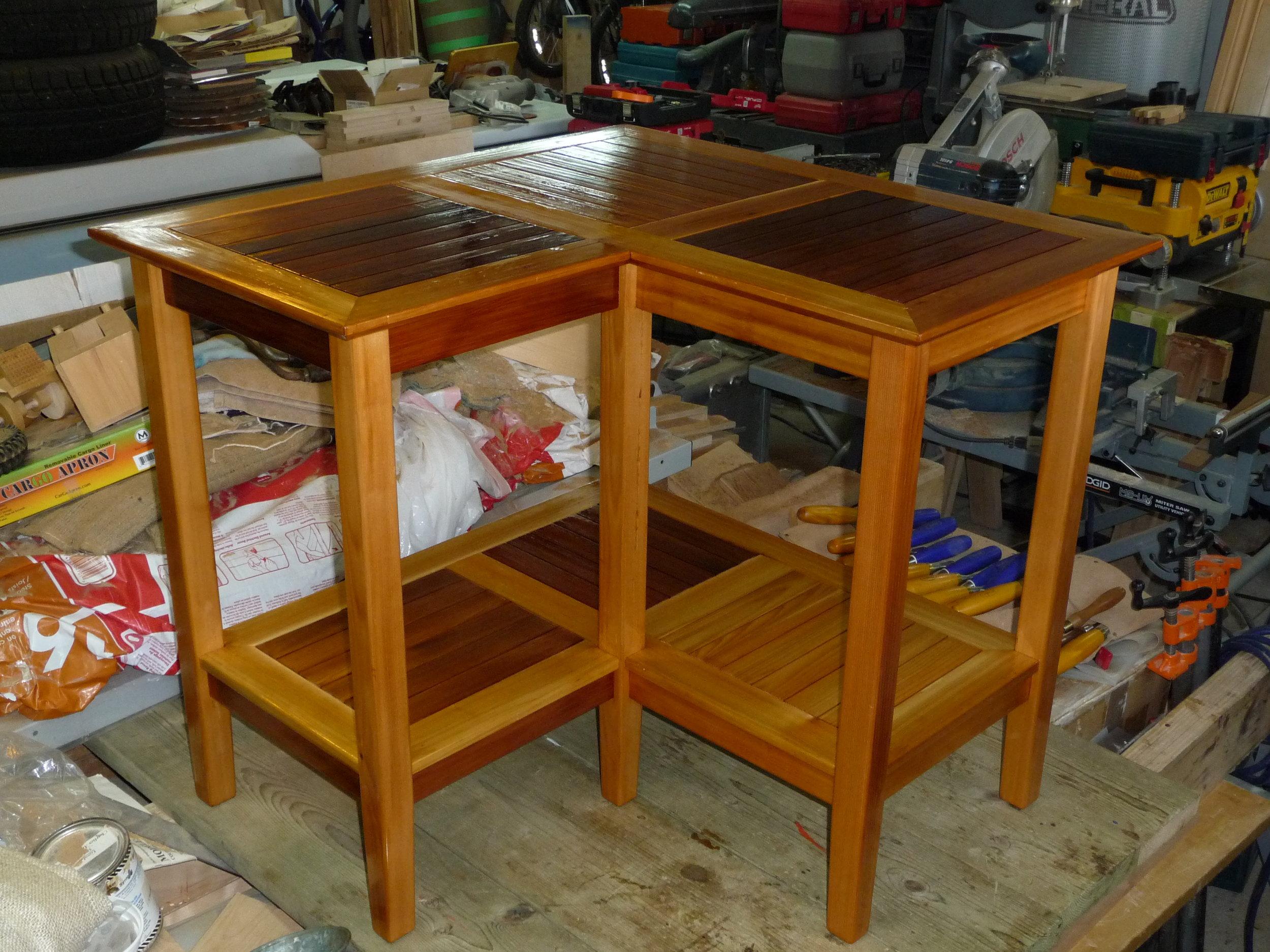 Deck Corner Table