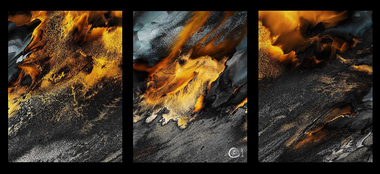 Vulcan's Fury Triptych