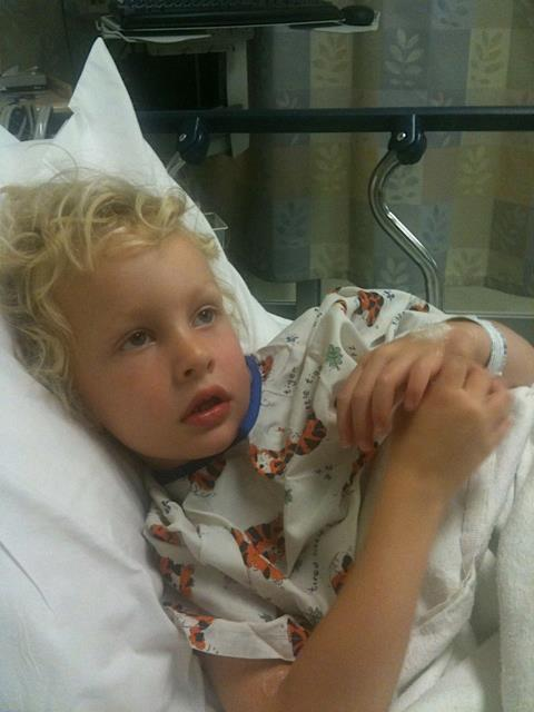 Max, day of diagnosis, August 5, 2011