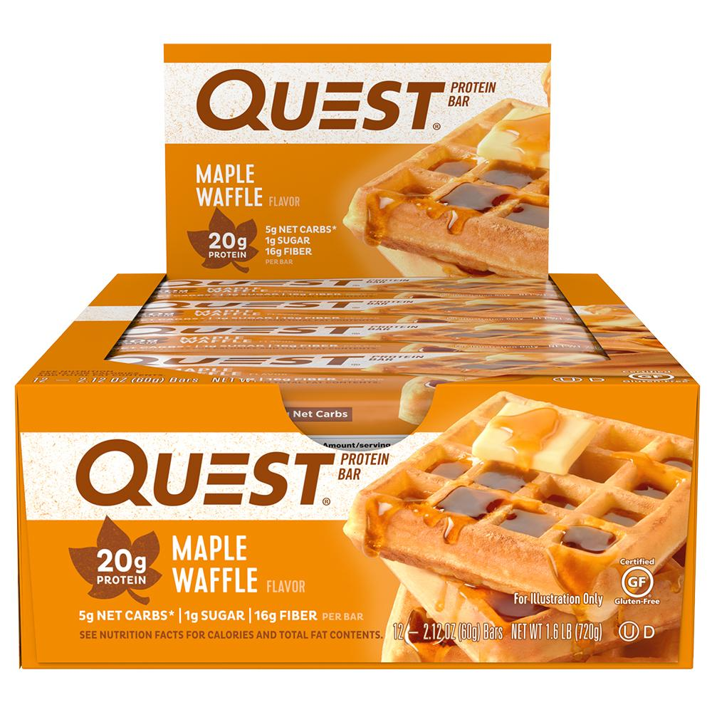 Quest Nutrition Maple Waffle Protein Bar