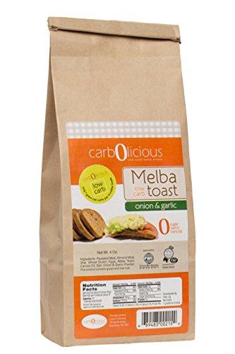 Low Carb Melba Toast (ONION & GARLIC)