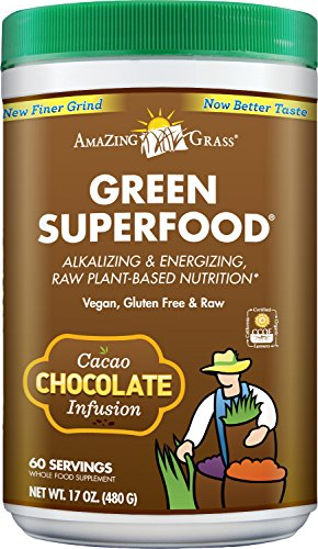 Amazing Grass Green Superfood Organic Powder with Wheat Grass and Greens