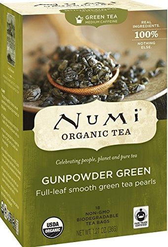 Numi Organic Tea Gunpowder Green