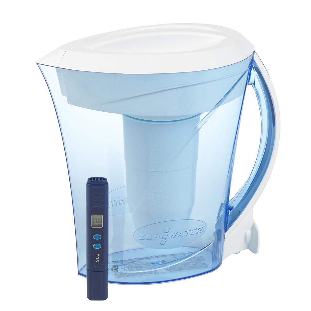 ZeroWater BPA-Free 8 Cup Filtration Pitcher