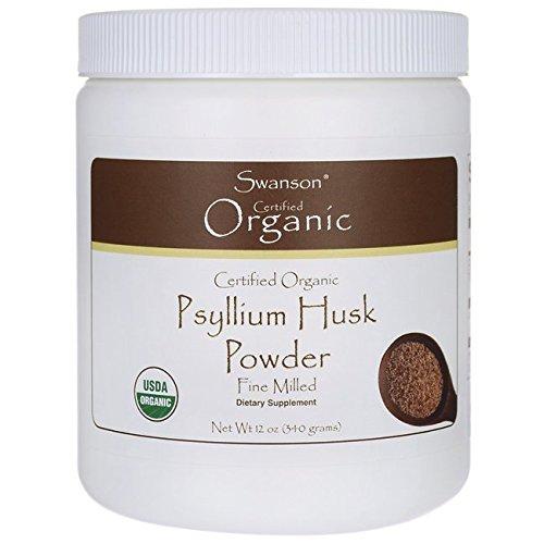 Swanson Certified Organic Psyllium Husk Powder
